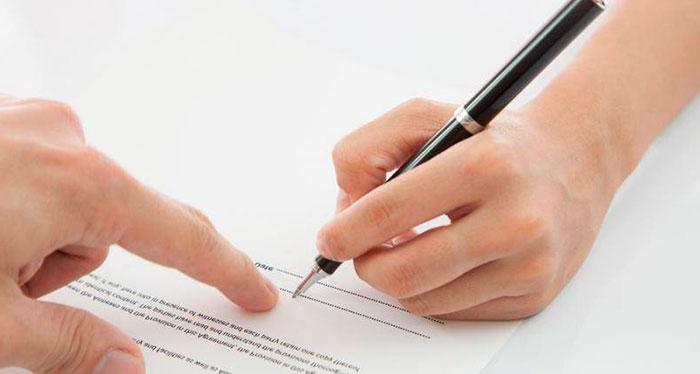 contrato laboral sustitucion