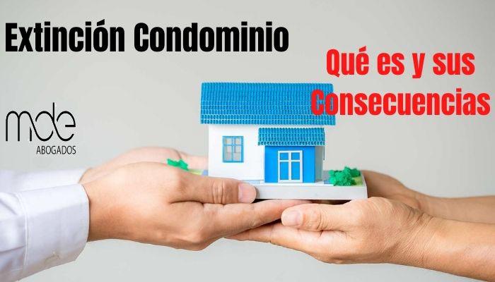 Extinción de Condominio